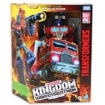 Transformers Kingdom Optimus Prime átalakítható játékfigura