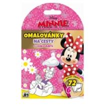 Úti színező + 6 zsírkréta Minnie II. (72 lap)