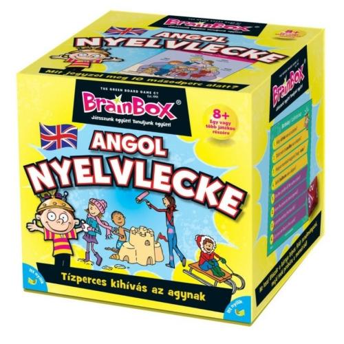 Brainbox Angol nyelvlecke ismeretterjesztő játék