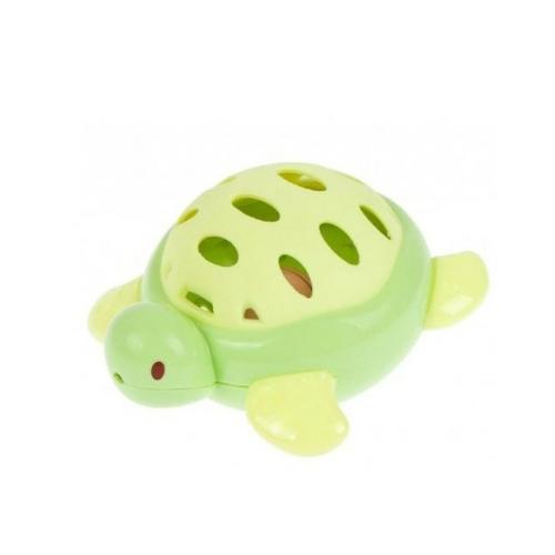 Csörgő teknős zöld BamBam