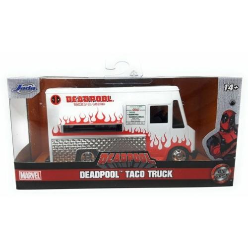 Deadpool fém kisbusz Taco Truck
