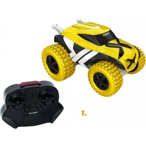 Elektromos trükk autó mini fold sárga