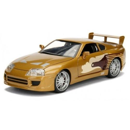 Fast & Furious fém autó Toyota Supra Slap Jack 1:24