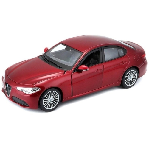 Fém autó Alfa Romeo Giulia piros 1:24