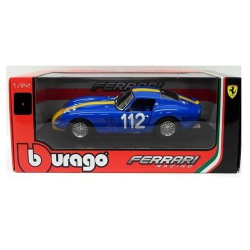 Fém autó Ferrari 250 GTO kék 1:24 Bburago