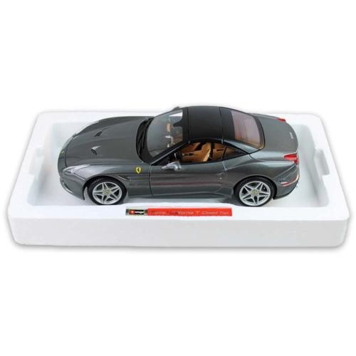 Fém autó Ferrari California T Signature Series szürke 1:18 Bburago