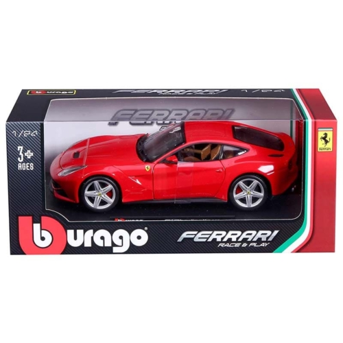 Fém autó Ferrari F12 Berlinetta piros 1:24 Bburago