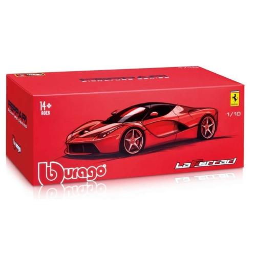 Fém autó Ferrari LaFerrari Signature Series piros 1:18
