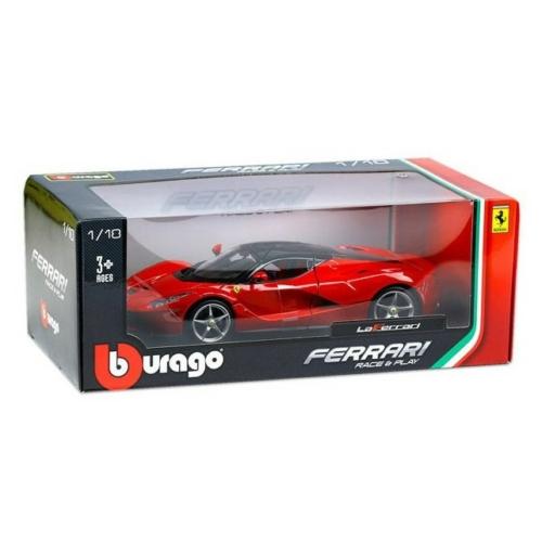 Fém autó Ferrari LaFerrari piros 1:24 Bburago