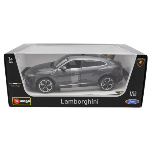 Fém autó Lamborghini Urus szürke 1:18 Bburago