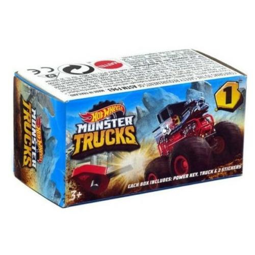 Fém kisautó Monster Truck mini meglepetés Hot Wheels
