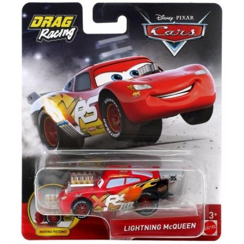 Fém kisautó piros Verdák Xtreme Drag Racing Villám McQUEEN