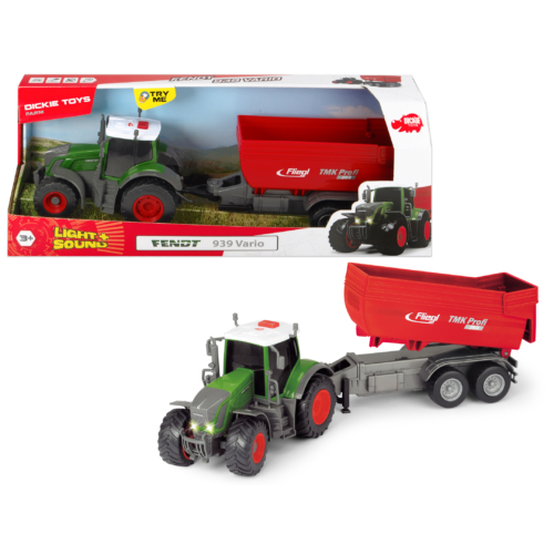 Fendt 939 Vario traktor utánfutóval 41 cm