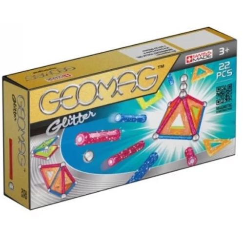 Geomag Glitter színes csillogós készlet 22 db-os