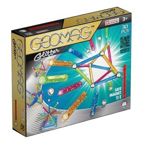 Geomag Glitter színes csillogós készlet 30 db-os