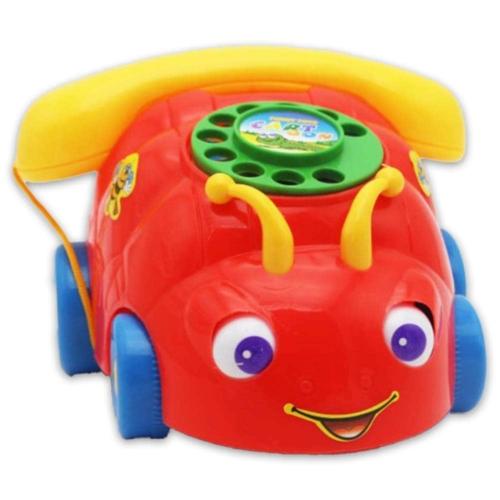 Guruló telefon szemes piros