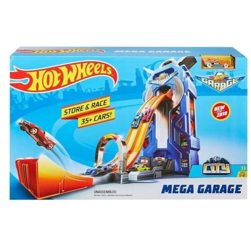 Hot Wheels Mega Garázs 1 autóval
