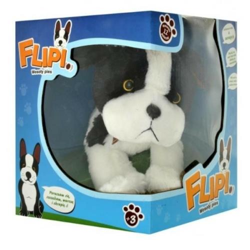 Interaktív kutya Flipi