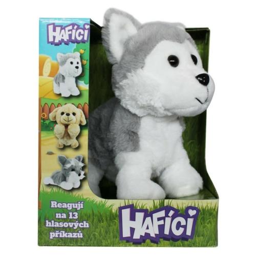 Interaktív kutya Husky Hafici