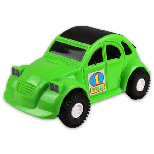 Kisautó Kacsa műanyag zöld Color Cars