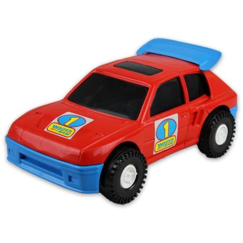 Kisautó Rally műanyag piros