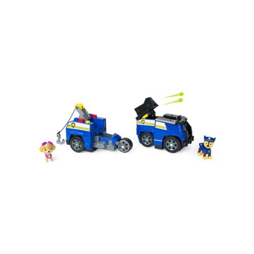 Mancs őrjárat Chase járműve 2 az 1-ben 2 figurával