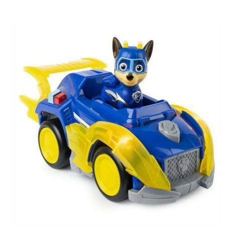 Mancs őrjárat Mighty Pups Super Paws Chase deluxe járműve