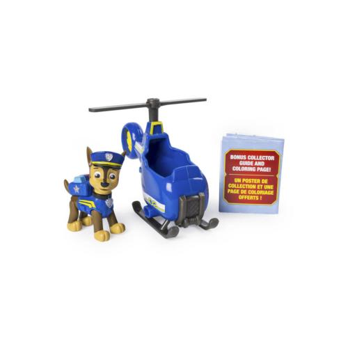 Mancs őrjárat Mini jármű figurával Chase helikopterrel