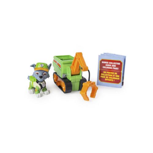 Mancs őrjárat Mini jármű figurával Rocky daruval