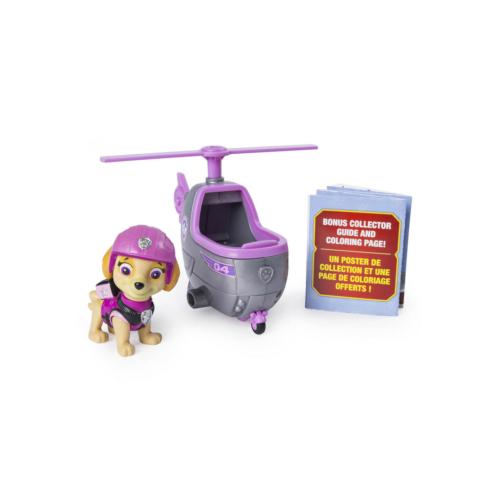 Mancs őrjárat Mini jármű figurával Skye helikopterrel