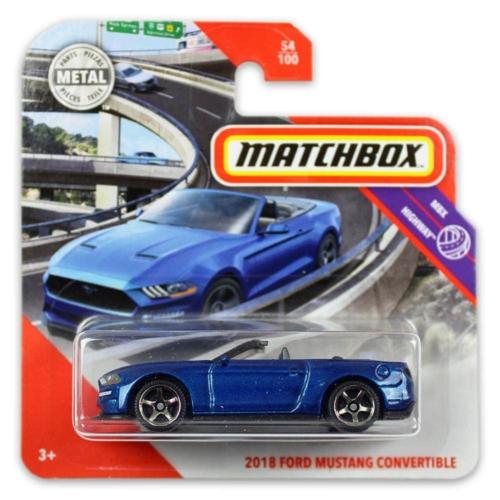Matchbox fém kisautó 2018 Ford Mustang Convertible 54/100