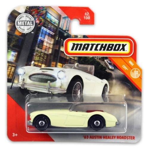 Matchbox fém kisautó 63-as Austin Healy roadster 42/100