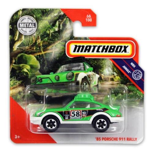 Matchbox fém kisautó 85-ös Porsche 911 Rally 66/100