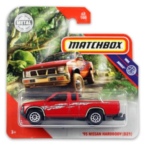 Matchbox fém kisautó 95-ös Nissan Hardboy (D21)
