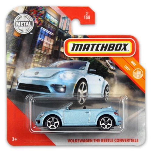 Matchbox fém kisautó Volkswagen the Beetle convertible 2/100