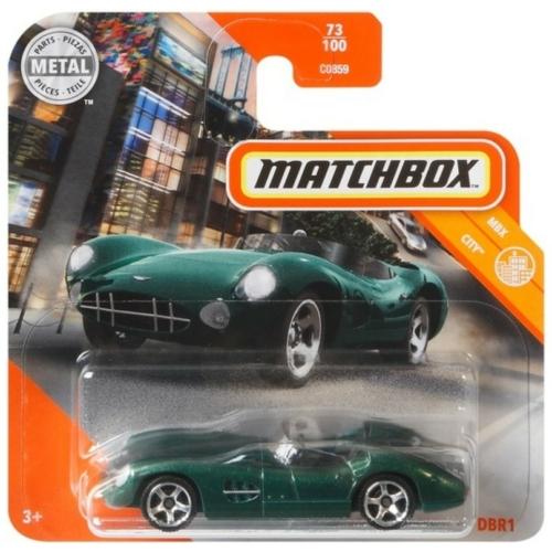 Matchbox fém kisautó 1956 Aston Martin DBR1 zöld 73/100
