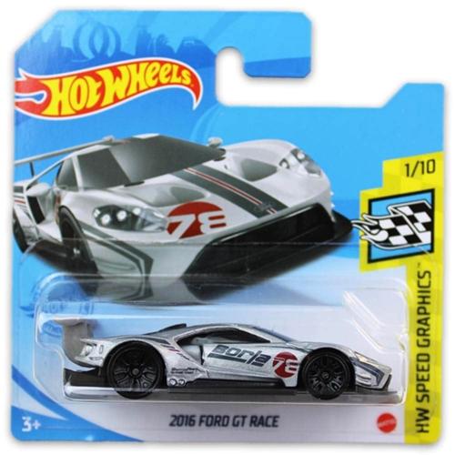 Mattel Hot Wheels fém kisautó 2016 Ford GT Race