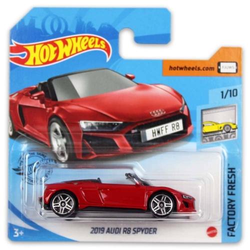Mattel Hot Wheels fém kisautó 2019 Audi R8 Spyder