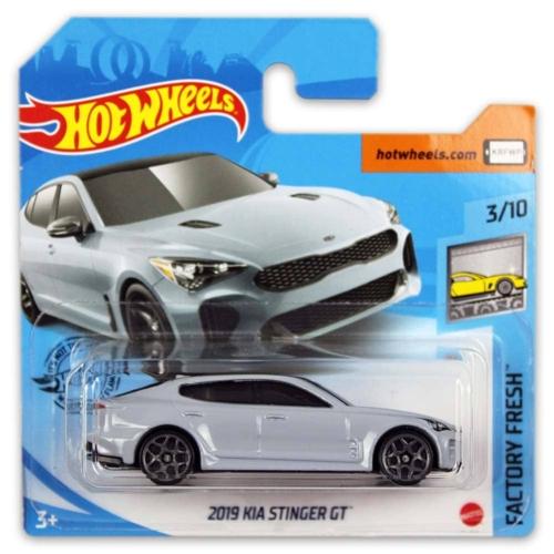 Mattel Hot Wheels fém kisautó 2019 Kia Stinger GT