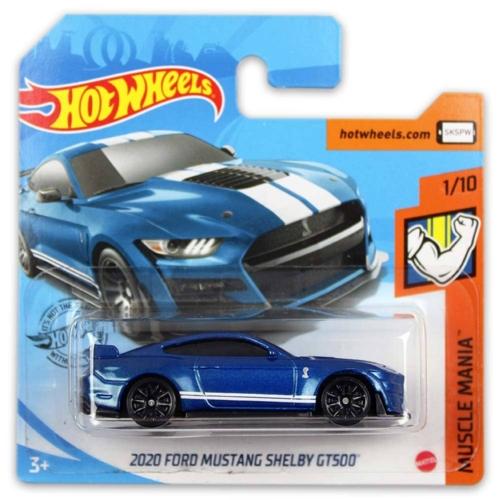 Mattel Hot Wheels fém kisautó 2020 Ford Mustang Shelby GT500