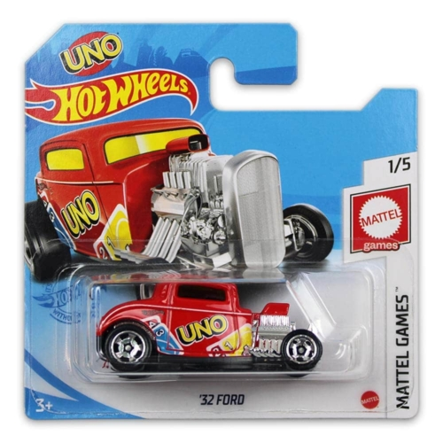 Mattel Hot Wheels fém kisautó '32 Ford UNO