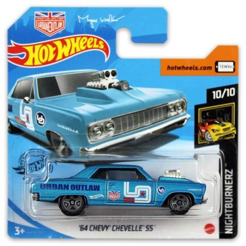 Mattel Hot Wheels fém kisautó '64 Chevy Chevelle SS