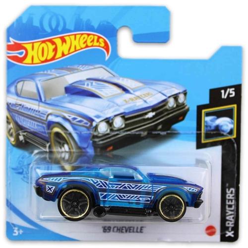 Mattel Hot Wheels fém kisautó '69 Chevelle