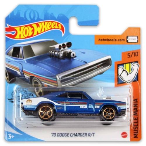Mattel Hot Wheels fém kisautó '70 Dodge Charger R/T