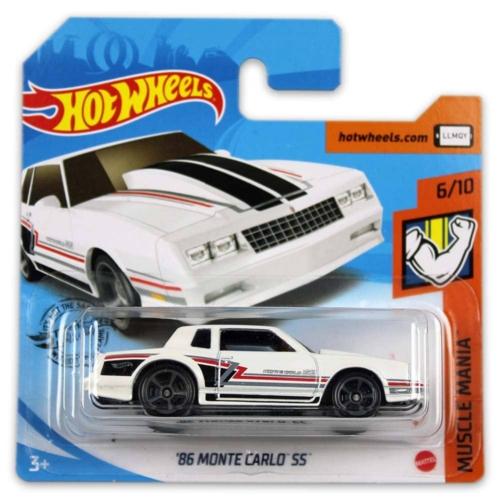 Mattel Hot Wheels fém kisautó '86 Monte Carlo SS
