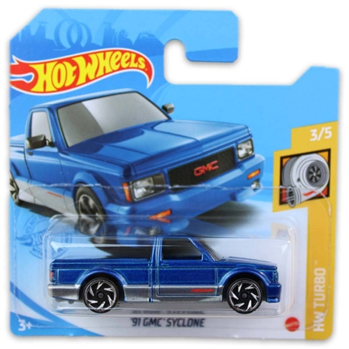 Mattel Hot Wheels fém kisautó '91 GMC Syclone