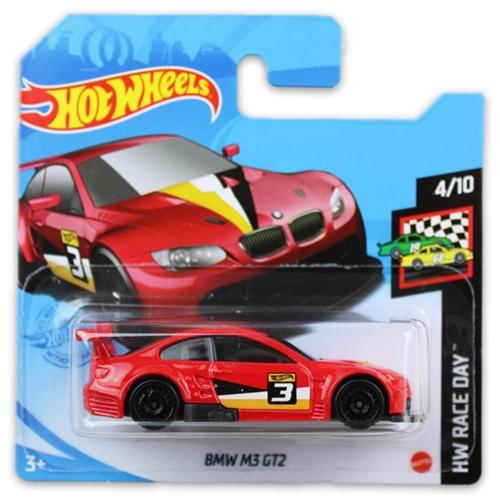 Mattel Hot Wheels fém kisautó BMW M3 GT2