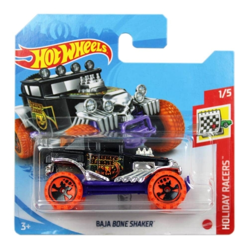 Mattel Hot Wheels fém kisautó Baja Bone Shaker