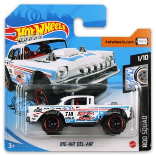 Mattel Hot Wheels fém kisautó Big-Air Bel-Air