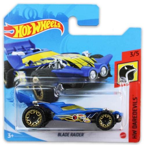 Mattel Hot Wheels fém kisautó Blade Raider